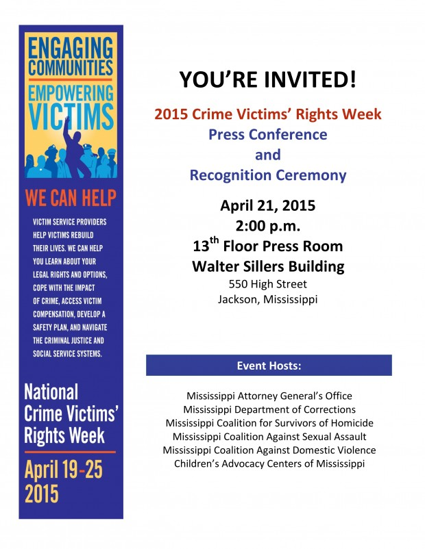 2015 Crime Victims' Rights Week