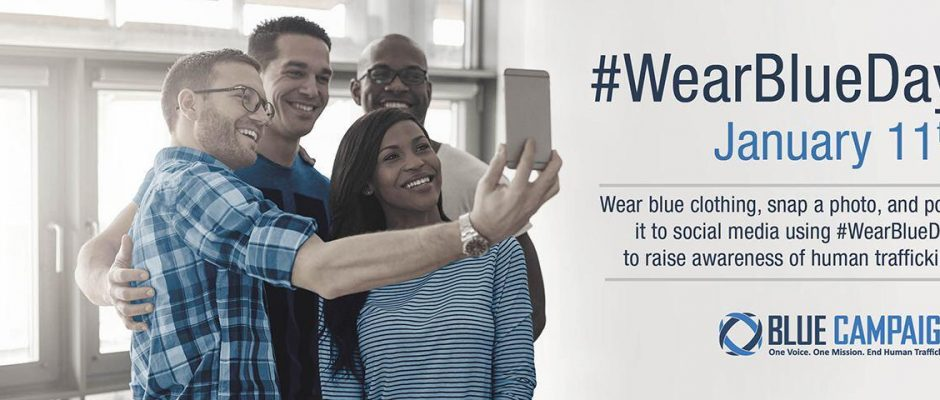 Blue Campaign: #WearBlueDay